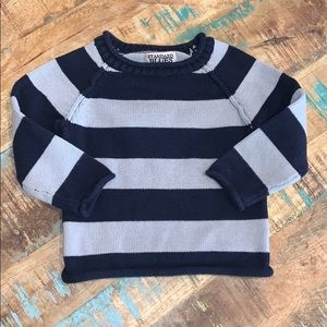 Standard Blues Boys Striped Knot Sweater